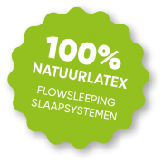 FlowSleeping 100% Natuurlatex